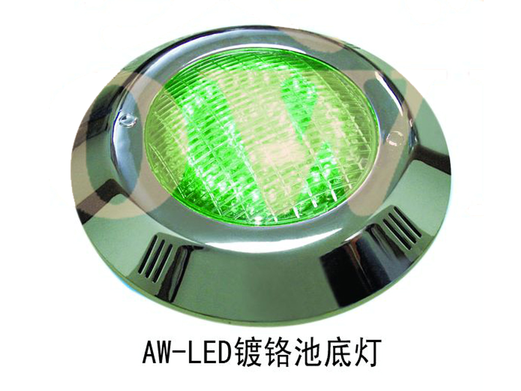 LED镀铬池底灯