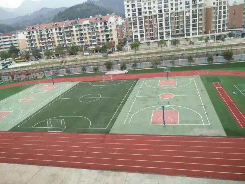 三明市第六中学运动场跑道