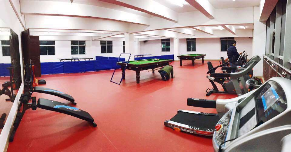 丰泽区某社区健身活动室