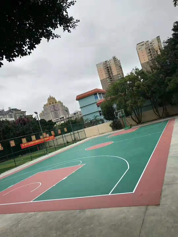 平潭青少年宫篮球场改造完工