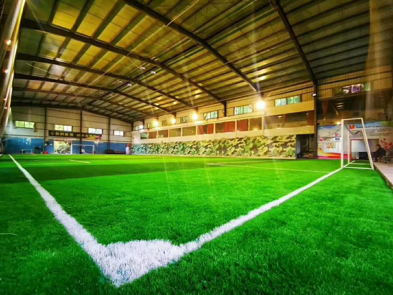 海军集训基地室内足球场完工