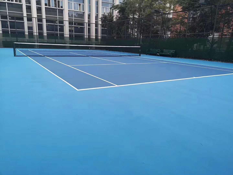 泉州一中网球场改造项目提前完工