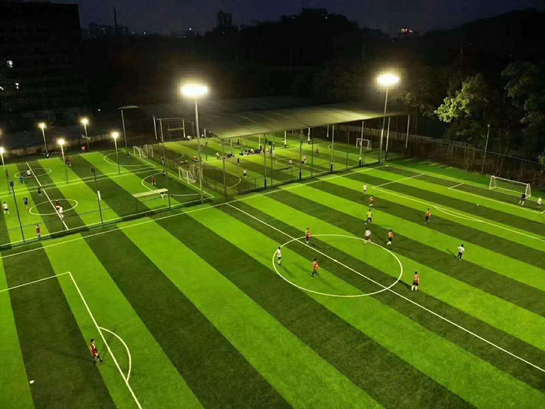 三明市足球运动场提前完工交付使用